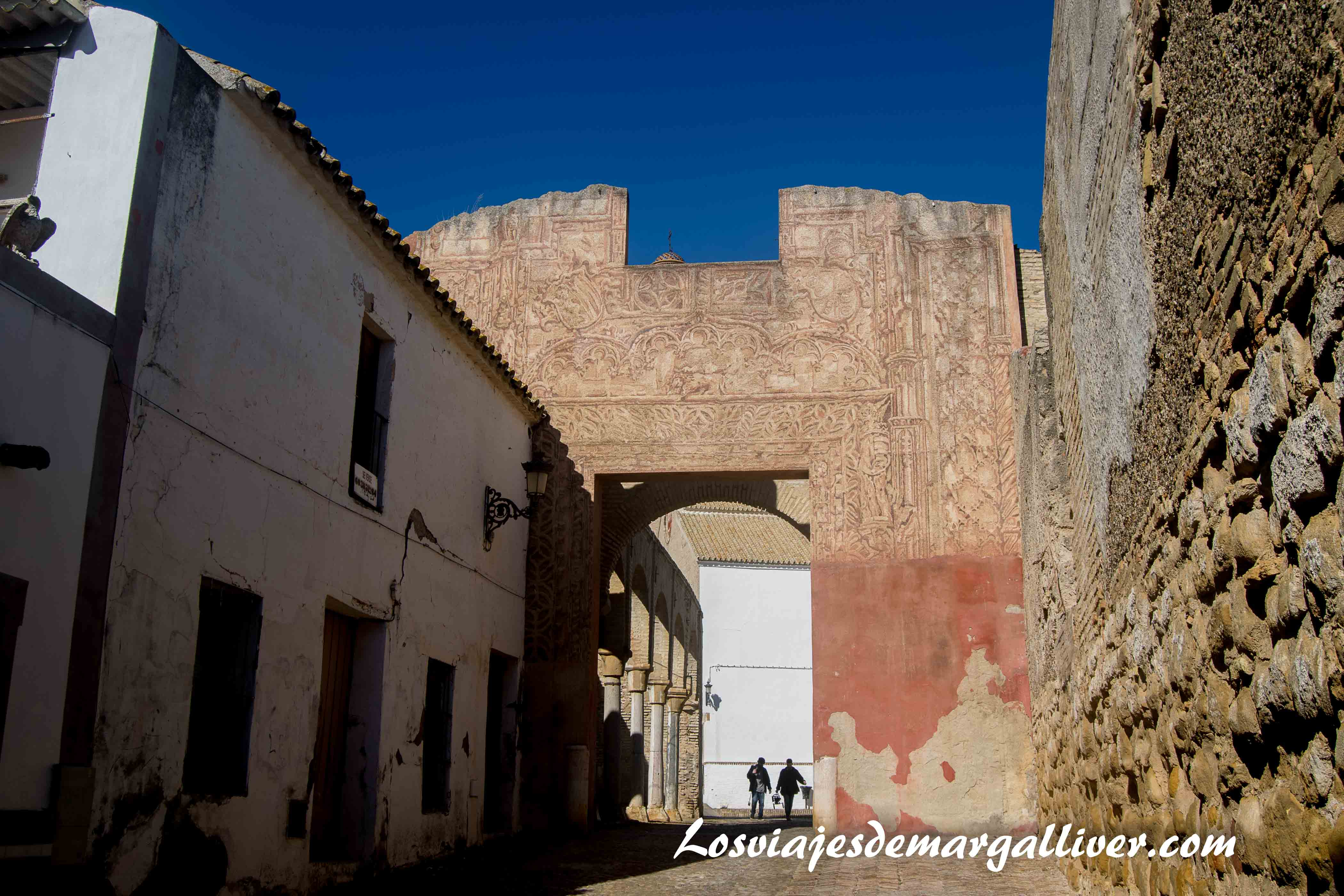 Entrada al palacio ducal en Marchena , a una hora de - Los viajes de Margalliver